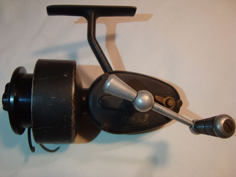 Rare the mitchell 300 3rd version half bail spinning for Mitchell fishing reels