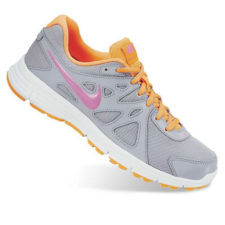 NEW Womens Nike Revolution 2 Athletic Running Shoes - 5, 6