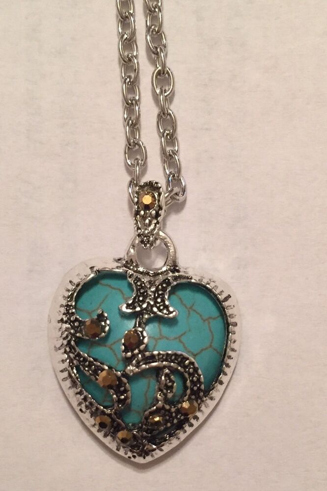 *SALE* Sterling Silver Marcasite & Turquoise Heart ...