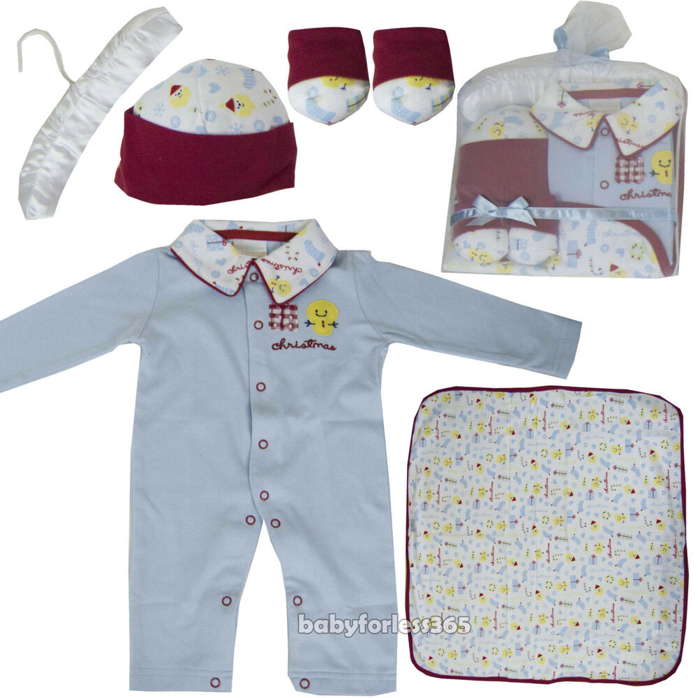 5 Pieces Lot Baby Boys Gift Sets Clothes Outfits Size 0 3 ...