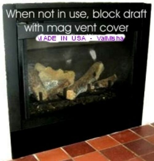 6 X36 New Heavy Duty Magnetic Fireplace Vent Covers Most Powerful On Market Ebay