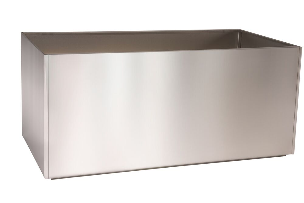 Trough Metal Stainless Steel Planter Box Extra Large