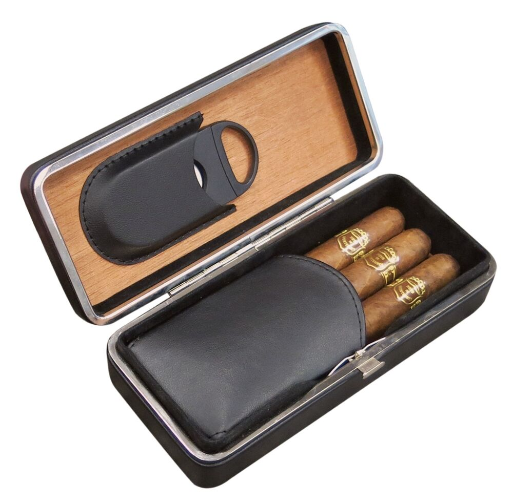 Watch Leather Travel Case