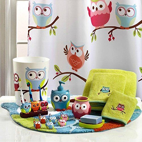 toothbrush holder colorful hoot owl bath accessories from