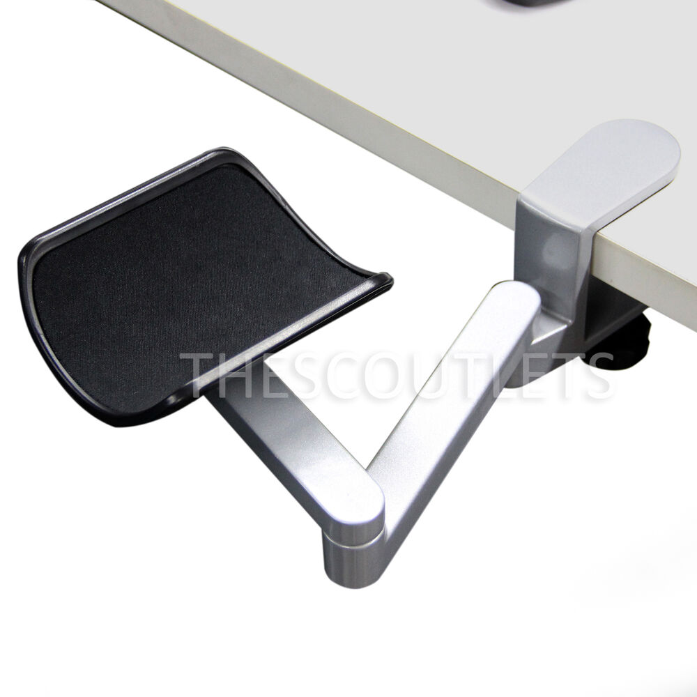 Ergonomic Flexible Wrist Rest Aluminum Alloy Computer Arm