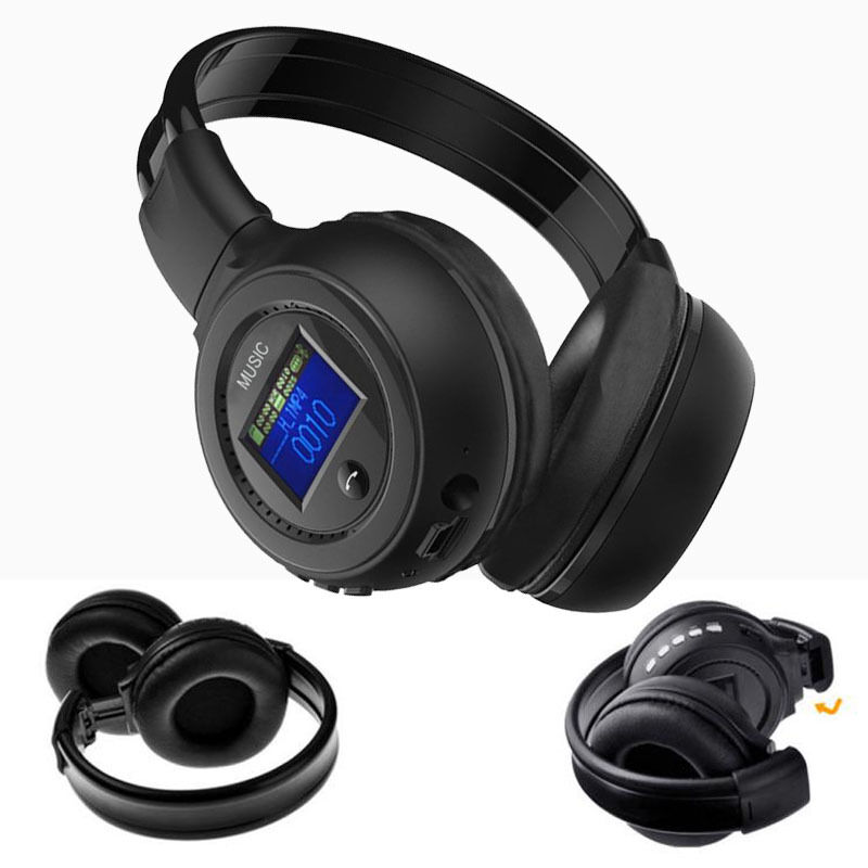 wireless bluetooth 3 0 stereo headset headphones with call mic microphone newest ebay. Black Bedroom Furniture Sets. Home Design Ideas