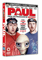Paul 2-Disc Probed Edition Dvd Simon Pegg Brand New & Factory Sealed