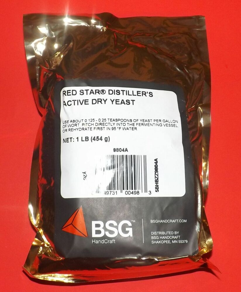 DISTILLERS YEAST 1lb FOIL PACKET For WHISKEY MOONSHINE
