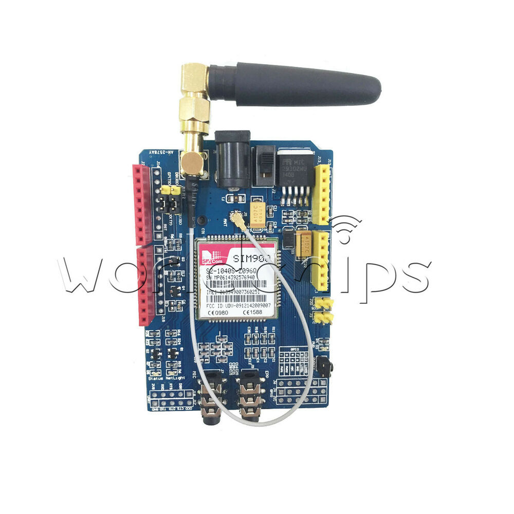 For arduino sim a mhz gprs gsm development