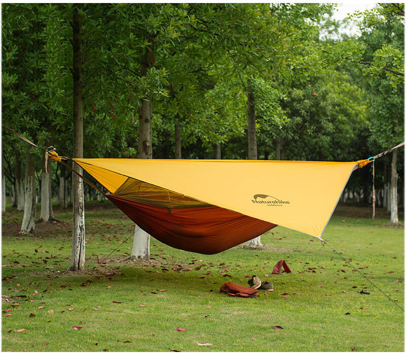 1 person camping hammock tent outdoor hanging bed with for Net hammock bed