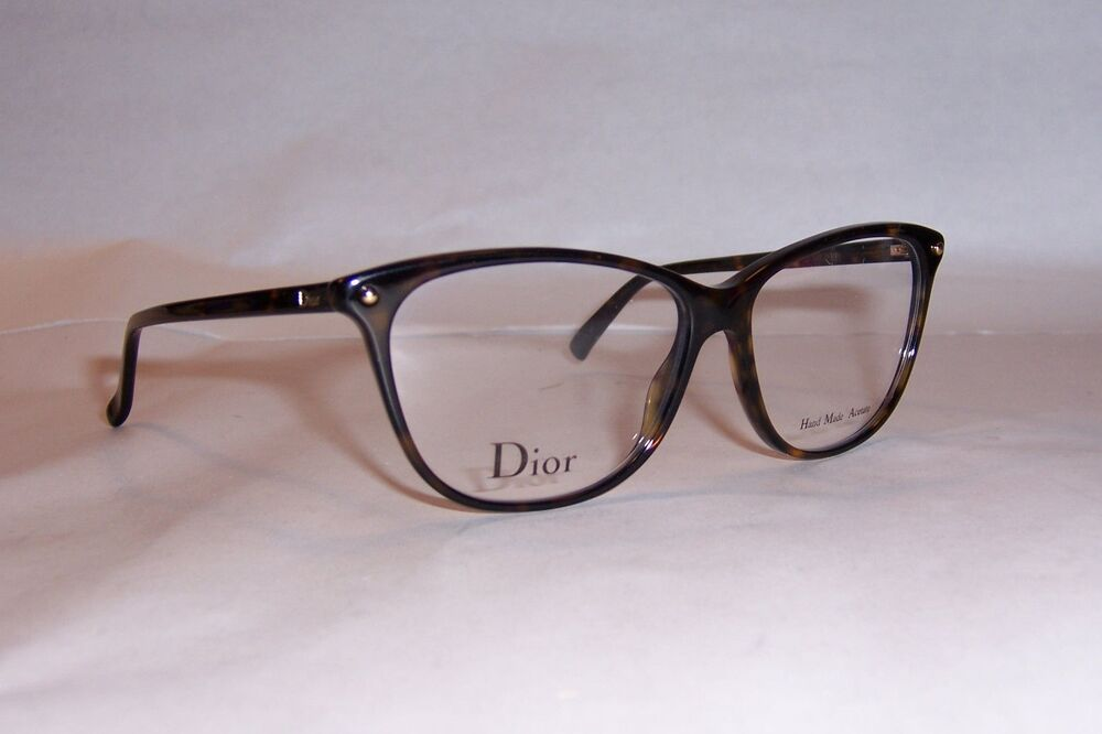 Eyeglass Frames Dior : NEW CHRISTIAN DIOR EYEGLASSES CD 3270 086 HAVANA 53mm RX ...