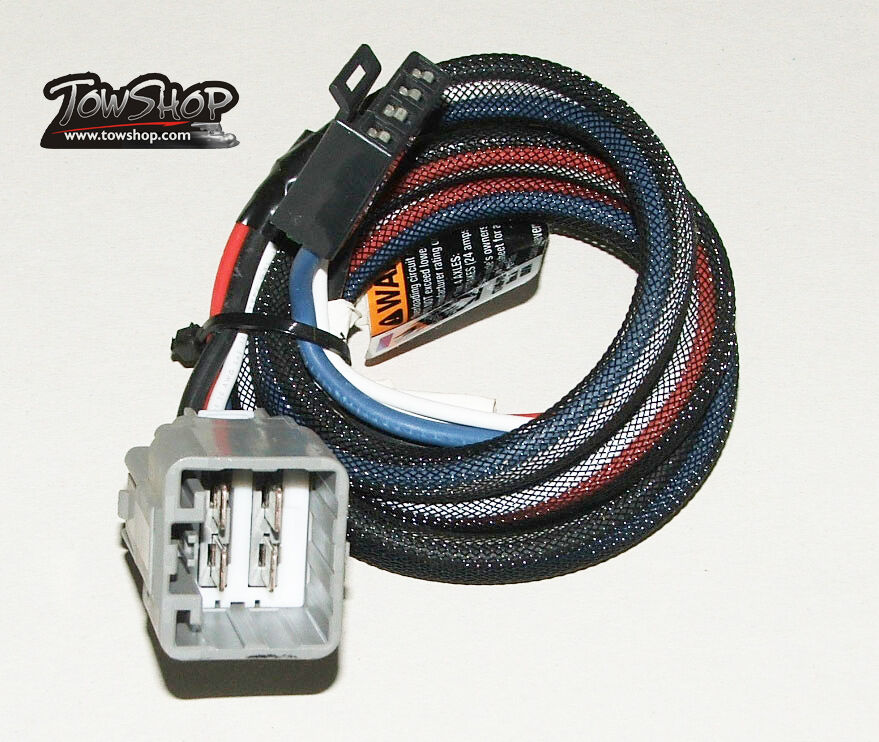 Brake Controller Wiring Harness Ford : Tekonsha electric brake control wiring harness