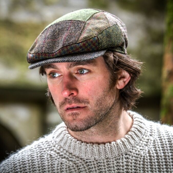 Irish Flat Cap Traditional Men S Kerry Patch Irish Tweed