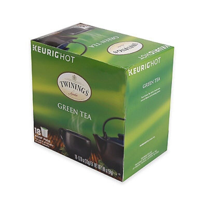 Twinings Of London Green Tea 18 Keurig K Cups Made Of