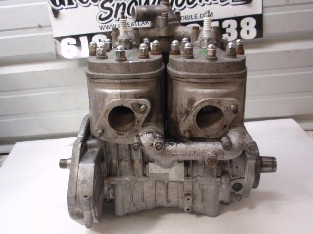 Kawasaki Invader 340 Twin Snowmobile Engine  Nice  No Core