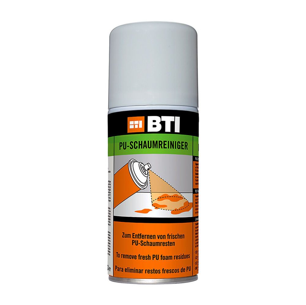bti bauschaum pu schaumreiniger reiniger schaum entferner clean pu cleaner 150ml ebay. Black Bedroom Furniture Sets. Home Design Ideas