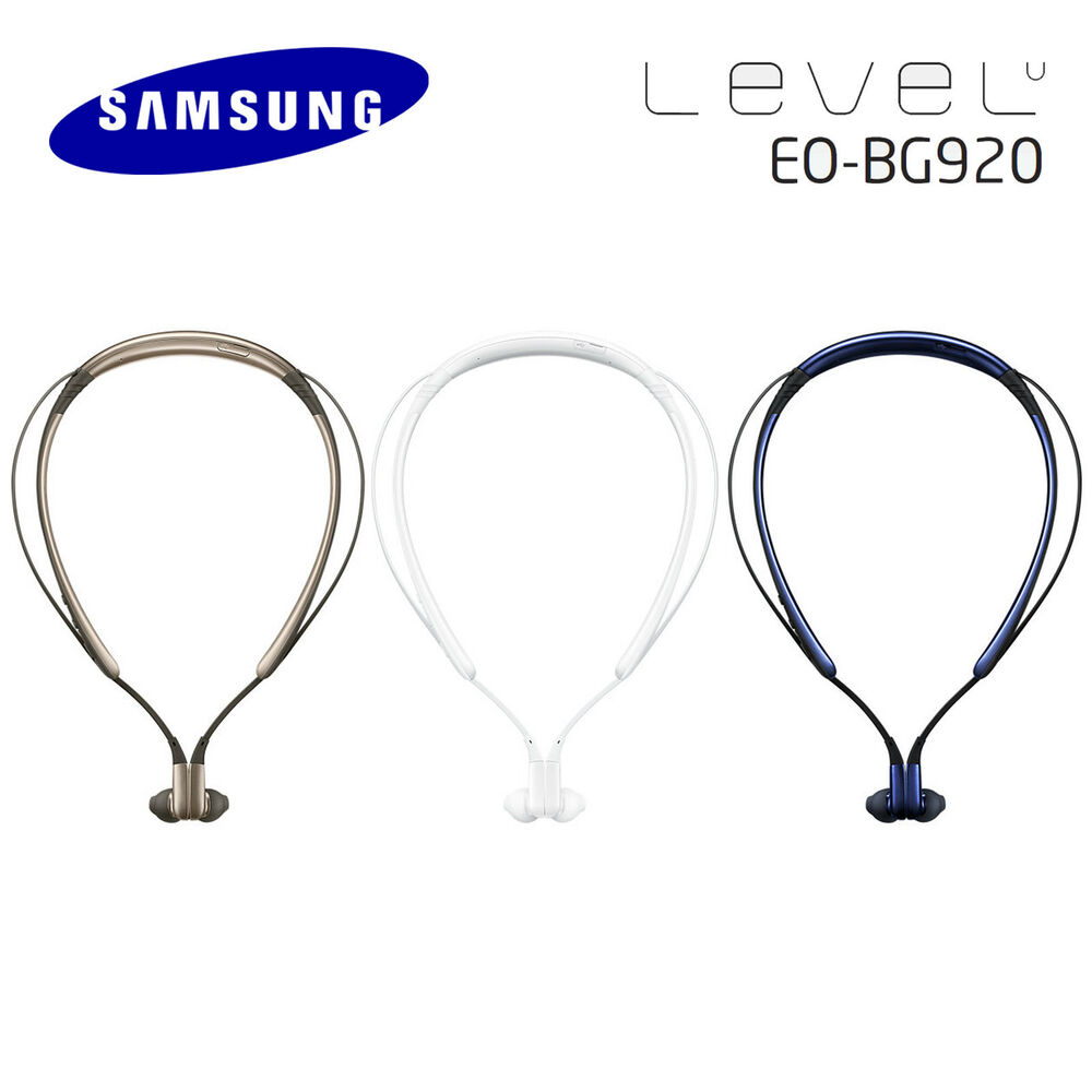 Original Samsung EO-BG920 Level U Wireless Bluetooth Neckband Headset Headphone