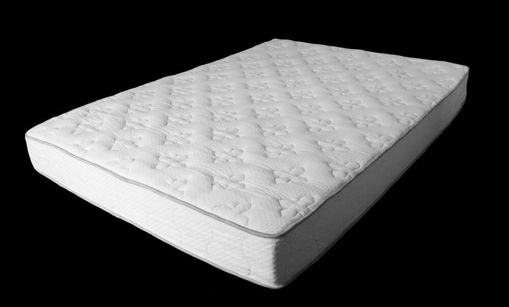 Mattress 8 Inch Pocket Coil Double Sided Modern Living