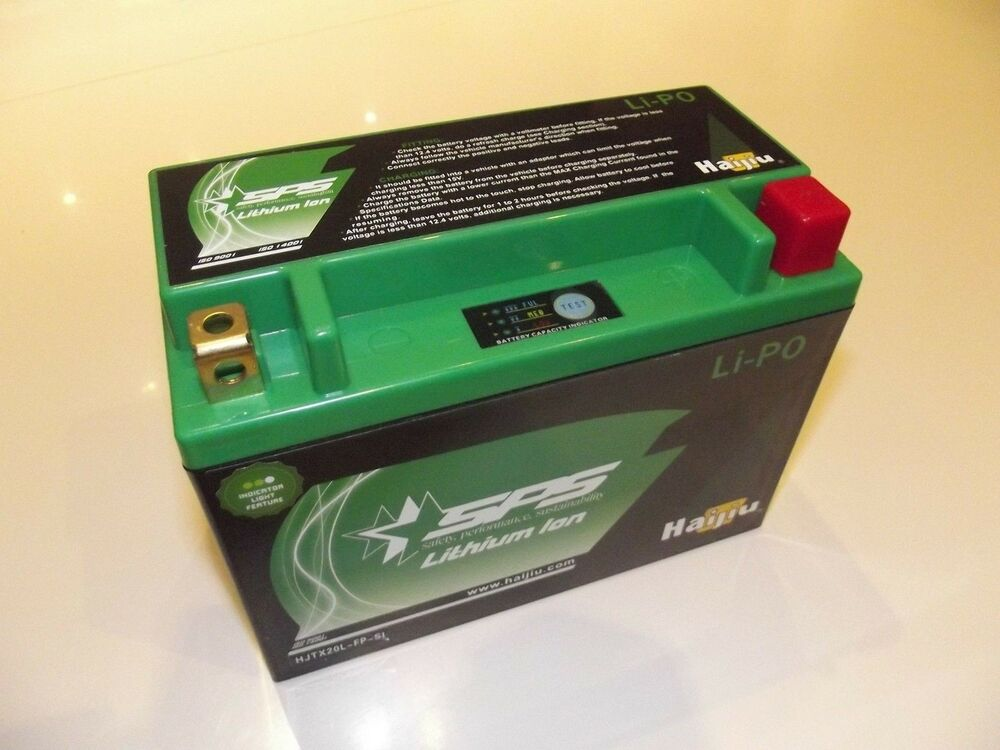 Lithium Ion 12V Motorcycle Battery Race Car Kitcar