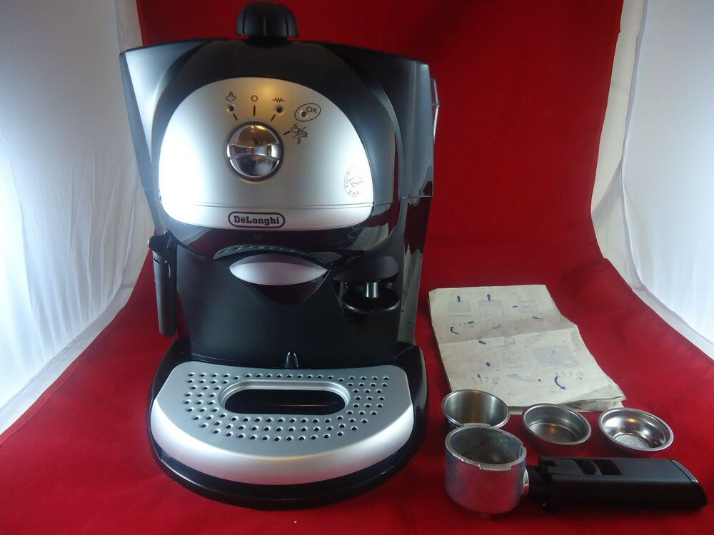 DeLonghi BAR41 2 cup Retro Espresso / Cappuccino Maker - Black WORKING 885310422168 eBay