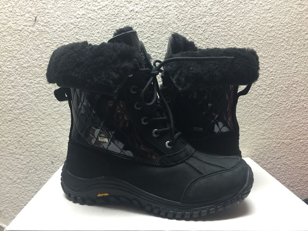 ugg adirondack ii quilted boots