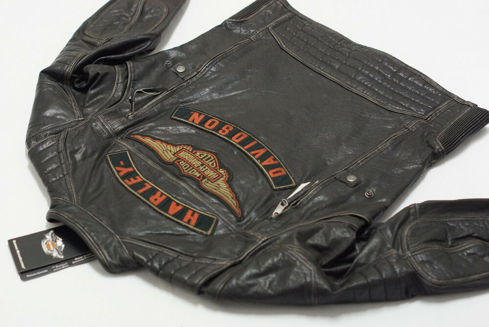 harley-davidson men's road warrior 3-in-1 leather riding jacket