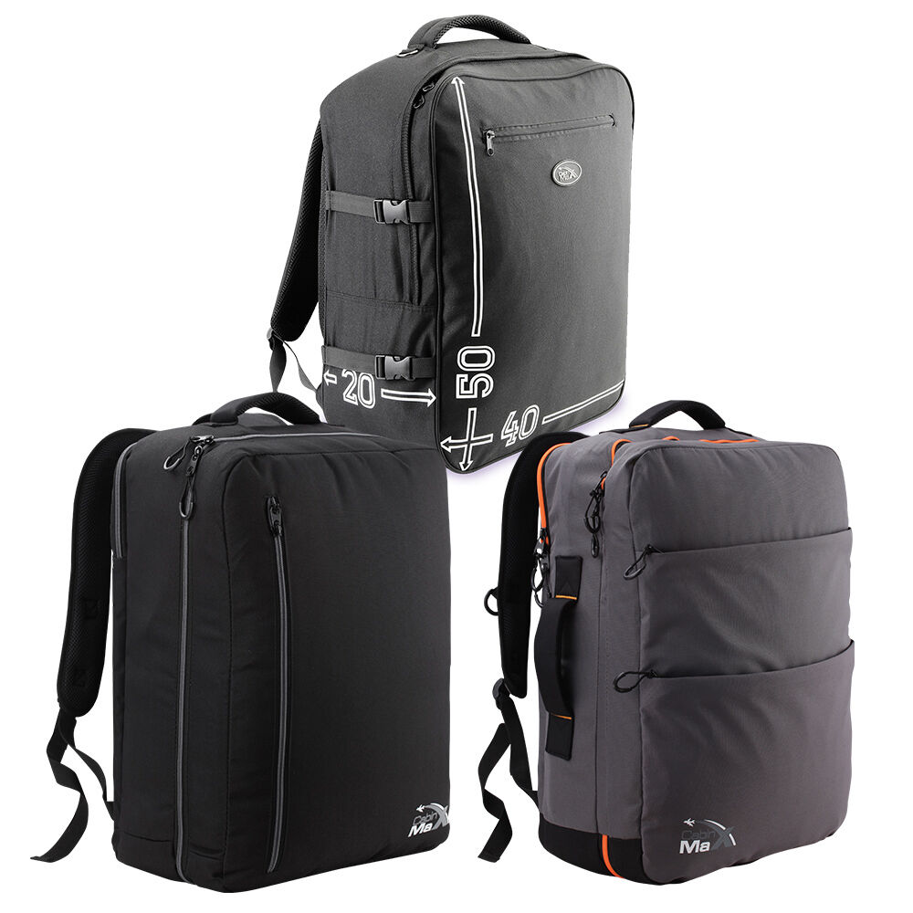 Lightweight Travel Trailer: Cabin Max Lightweight Hand Luggage Suitcase Backpack