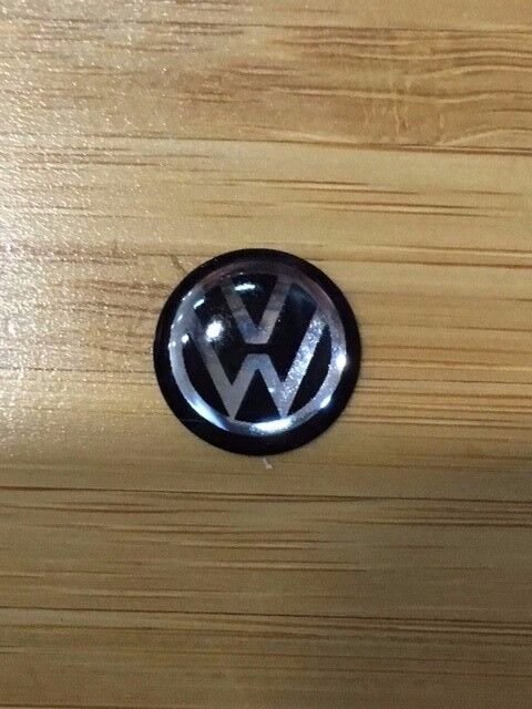New Style Volkswagen VW Key Fob Remote Metallic Badge Logo Sticker 12mm | eBay