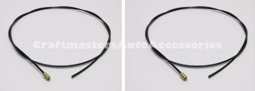 truck cap leer 2 cables with stops  92579  for 100xl  100xr