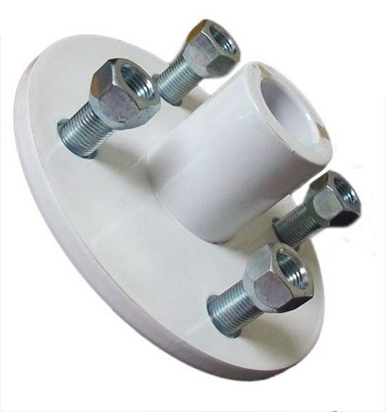 White 4 X 4 Wheel Heavy Duty Hub 1 Quot Rear Bore Go Kart