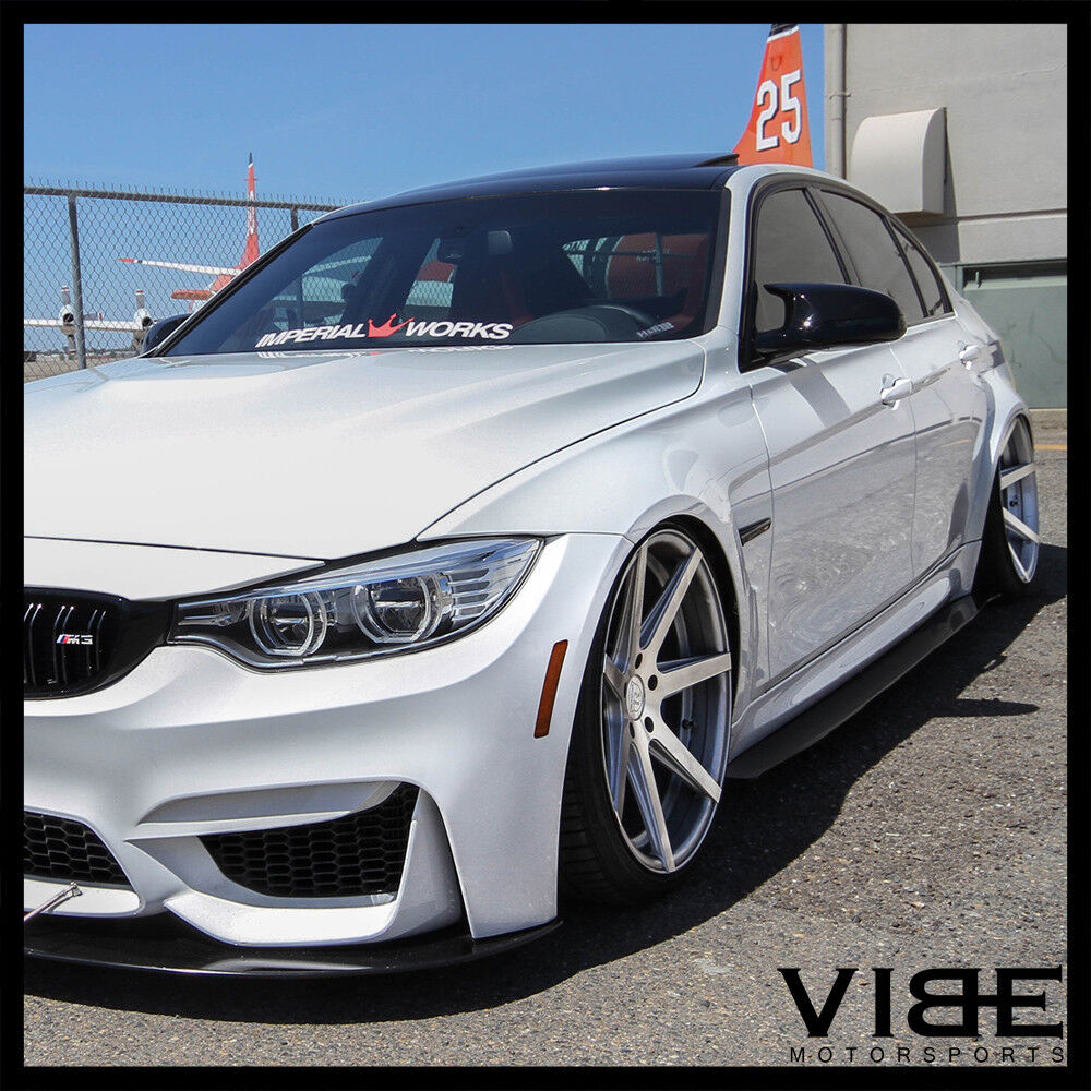 "19"" ROHANA RC7 SILVER CONCAVE WHEELS RIMS FITS BMW E60 M5"