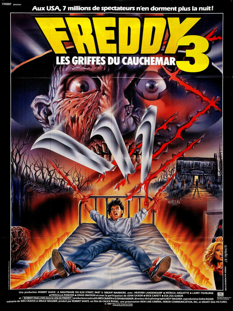 Nightmare On Elm Street Reihe