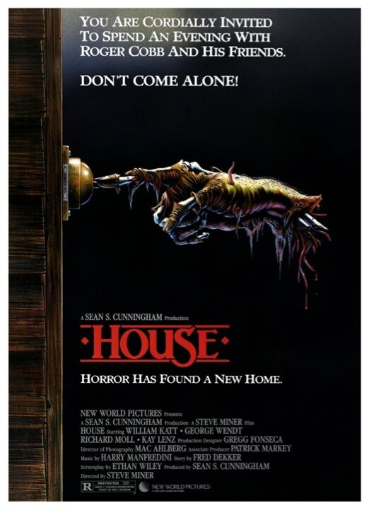 house movie poster horror comedy 80 s sean cunningham ebay