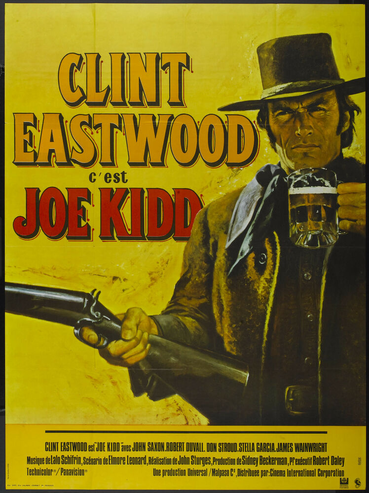 JOE KIDD Movie Poster RARE Clint Eastwood Western | eBay