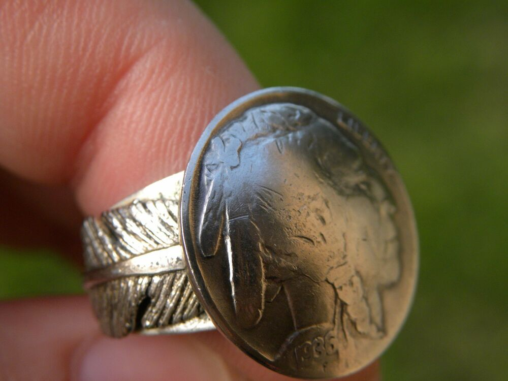 Indian Head Nickel Ring