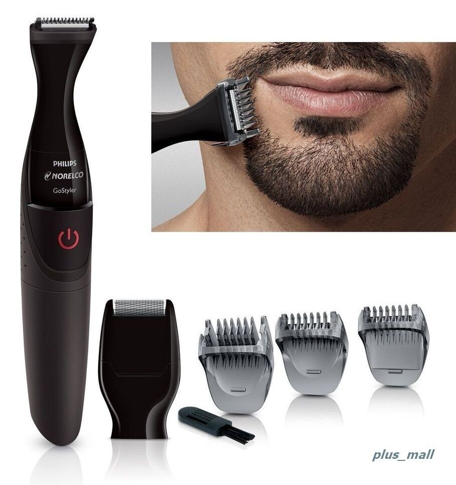 electric trimmer clipper beard mustache cut edge facial hair men shaver grooming ebay. Black Bedroom Furniture Sets. Home Design Ideas