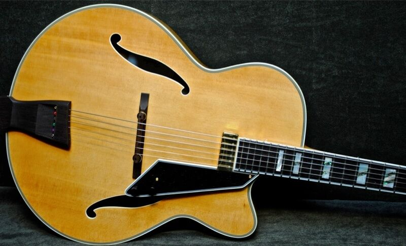 Peerless Blonde Monarch 17 Quot Jazz Electric Archtop Guitar
