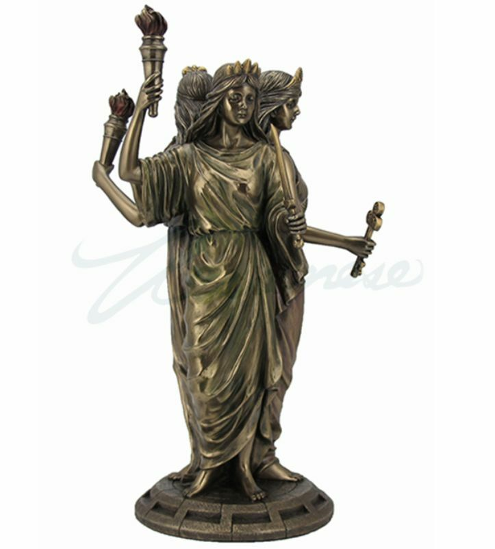 Large Hecate Greek God...