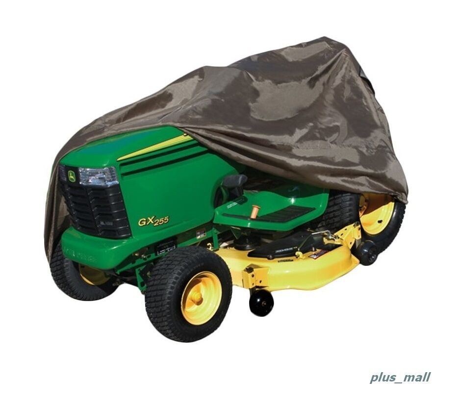 Storage Covers For Tractors : Lawn tractor cover fit water resistant protect flexible