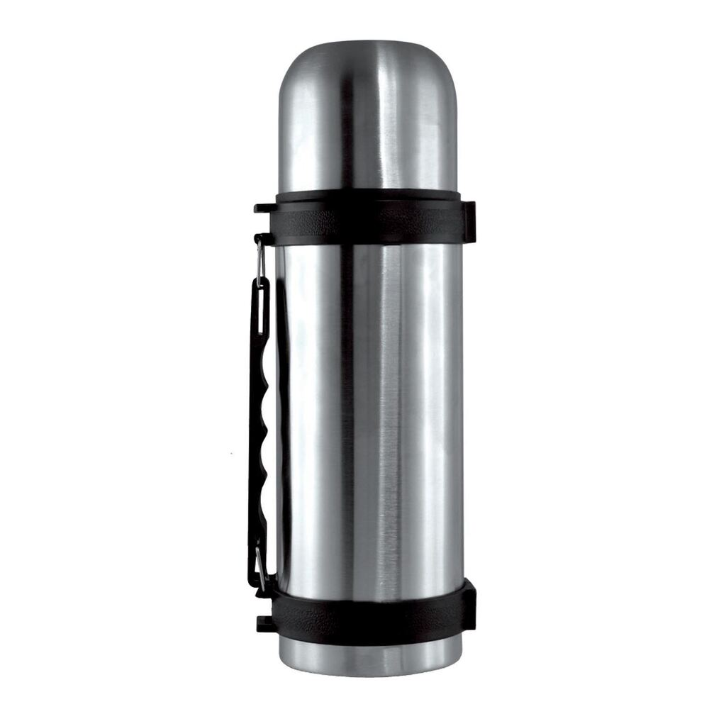 STAINLESS STEEL 1.5L VACUUM THERMOS FLASK 1.5 LITRE HOT N ...