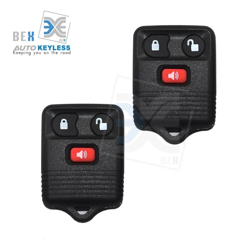 new 2 x replacement keyless entry remote for 1998 2014. Black Bedroom Furniture Sets. Home Design Ideas