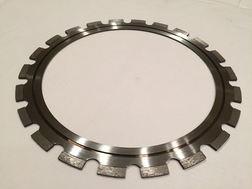 Concrete Wall Saw Blade Sales : Inch diamond ring saw blade for concrete walls ebay