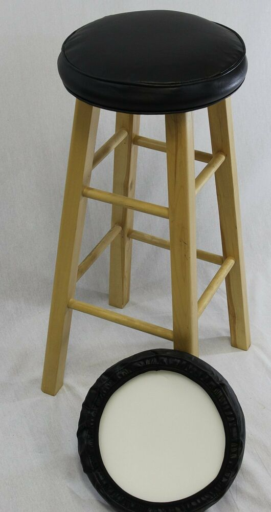 Bar Stool Seat Foam Cover 12 13 Quot Diameter Cushion Kitchen