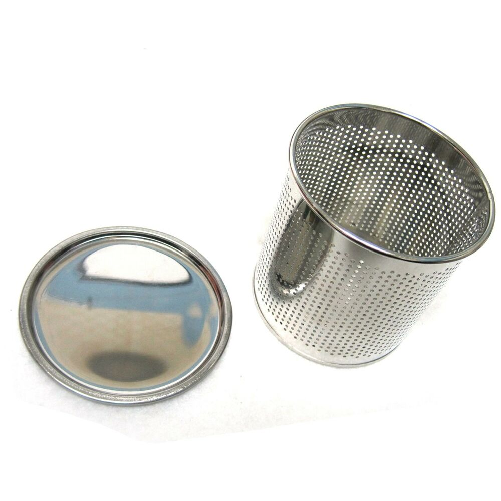 New Stainless Steel Perforated Cylinder Basket With Water