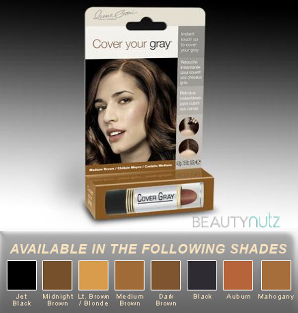 ... Gray Instant Touch Up Stick Hair Color - (Choose from 8 shades)   eBay