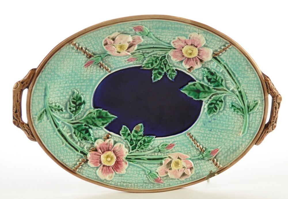 Hand Painted Serving Plate Oval