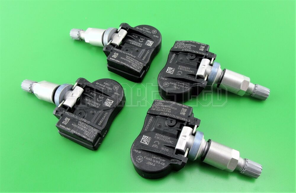 4x ford mondeo galaxy and s max tyre pressure sensors tpms. Black Bedroom Furniture Sets. Home Design Ideas