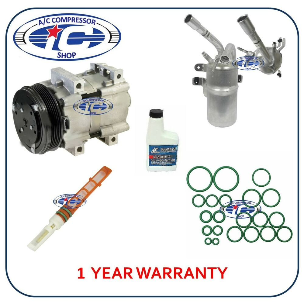 A/C Compressor Kit Fits Ford Focus 2003-2004 2.0L L4 58138
