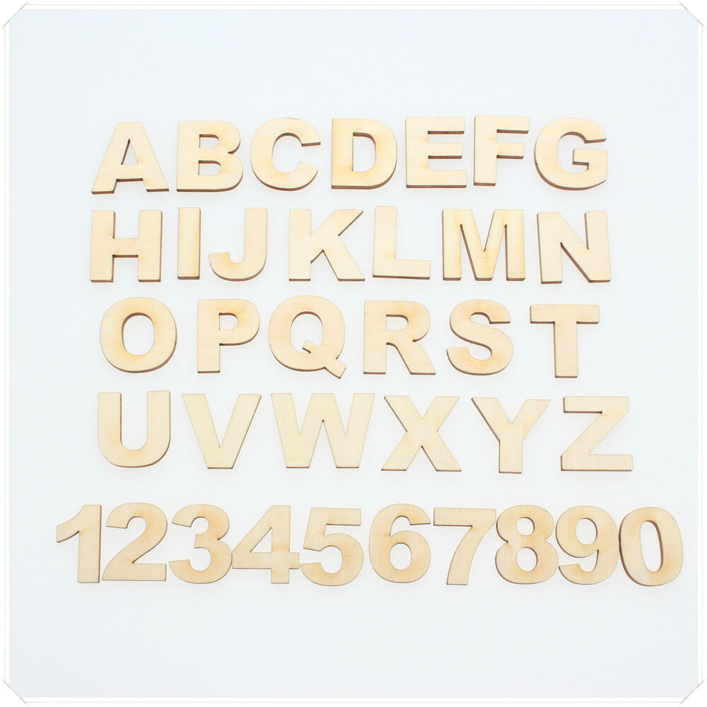 15cm to 12cm wooden letters numbers arial bold font for Ebay wooden letters