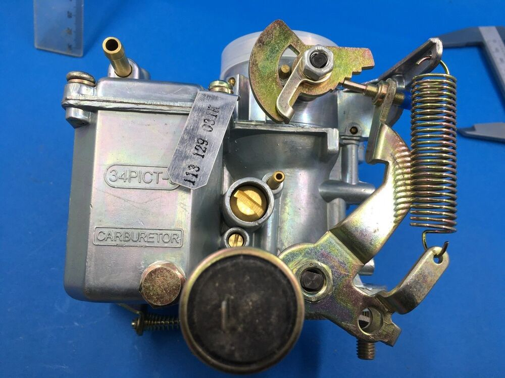 new 34 pict 3 carburettor fit vw beetle    camper 1600cc